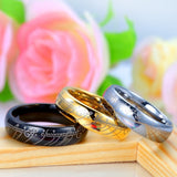Personality Tungsten Couple Rings