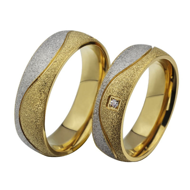 classic-matte-titanium-steel-plated-18k-gold-couple-rings