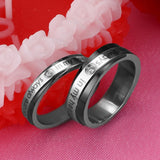 You Are Always In My Heart Couple Rings