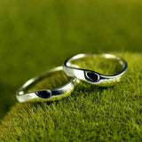 LOVE Soulmate 925 Silver Couple Rings