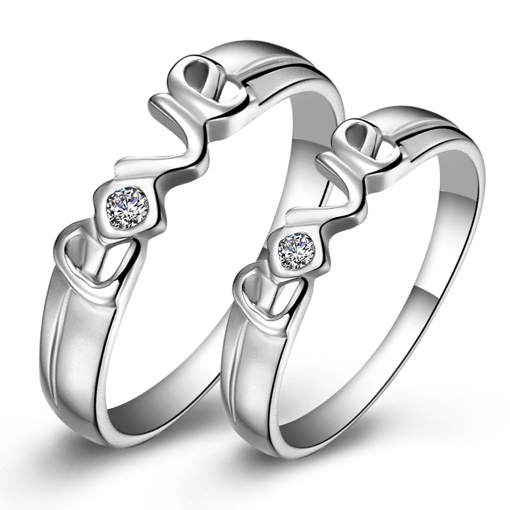rings az wedding steel jewelry titanium evermarker couple fashion ring engagement products