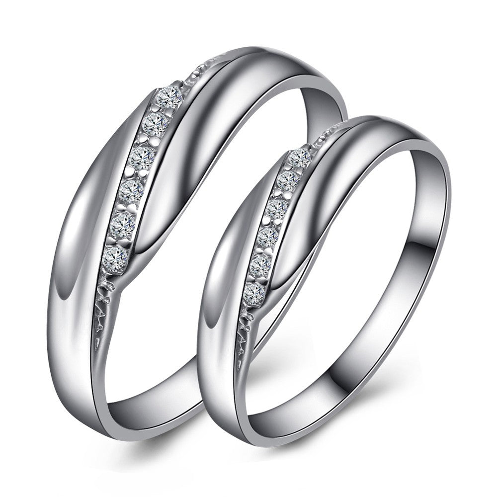 womens wedding mens couple products zirconia rings evermarker cubic
