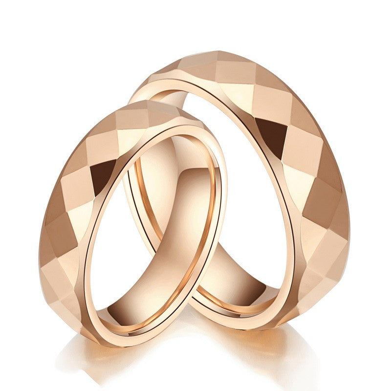 korean-simple-diamond-tungsten-steel-rose-gold-plated-couple-rings