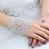 Latest Charming Hollow Rhinestone Bridal Bracelet