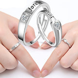 Adjustable Forever Couple Rings For Lovers