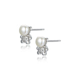 Teddy Bling Stud Earrings
