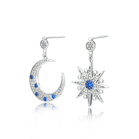 Moon Shine Drop Earrings