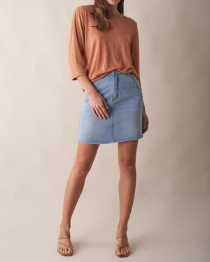Cyprus Denim Skirt