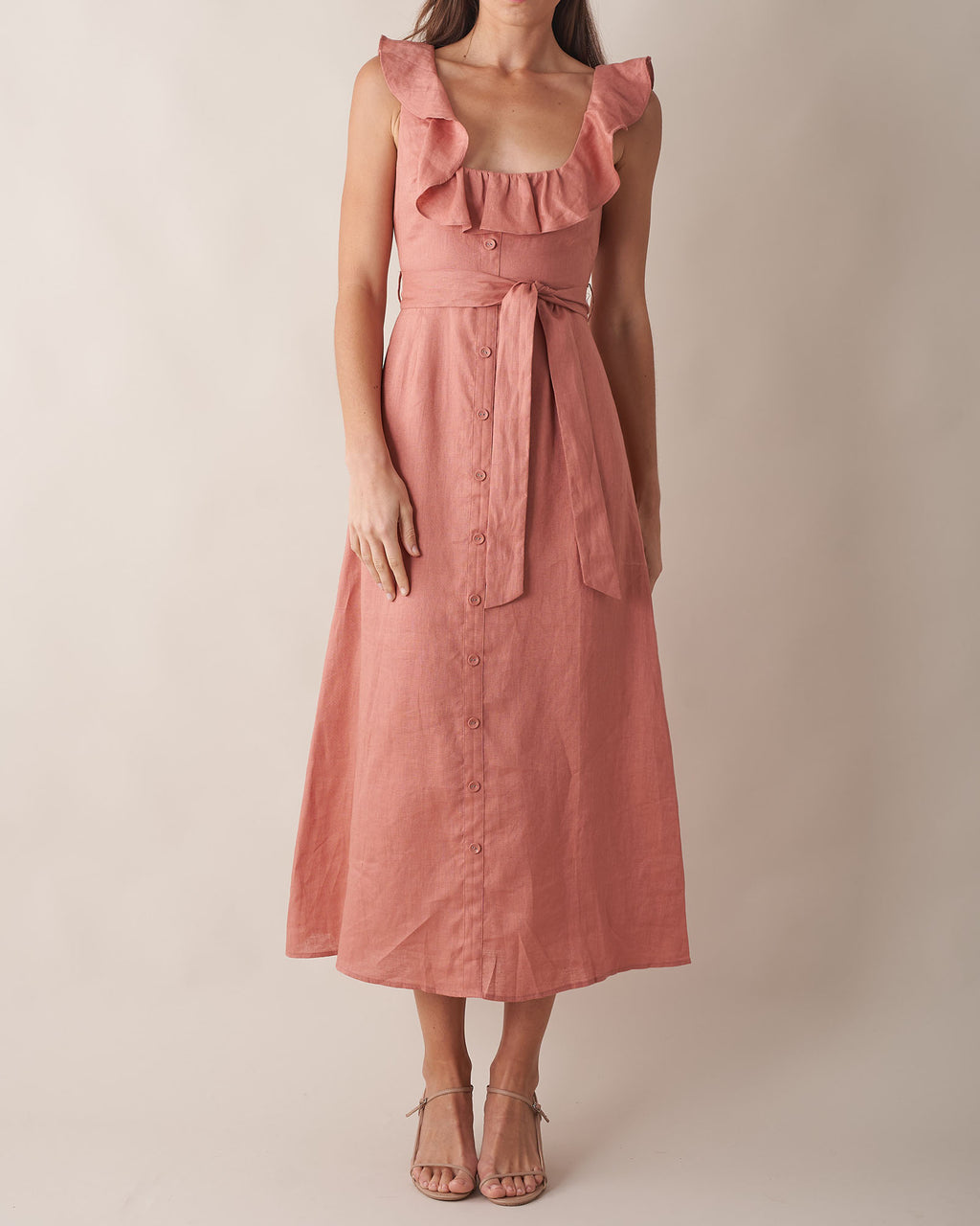 Bohdi Linen Dress