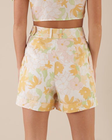 Riviera Belted Shorts