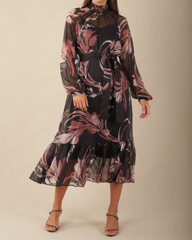 Botanica Chiffon Dress