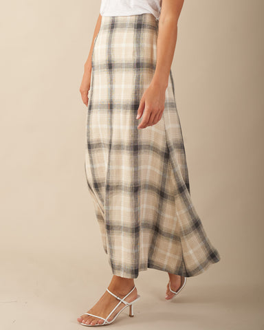 Sydney Check Skirt - PREORDER