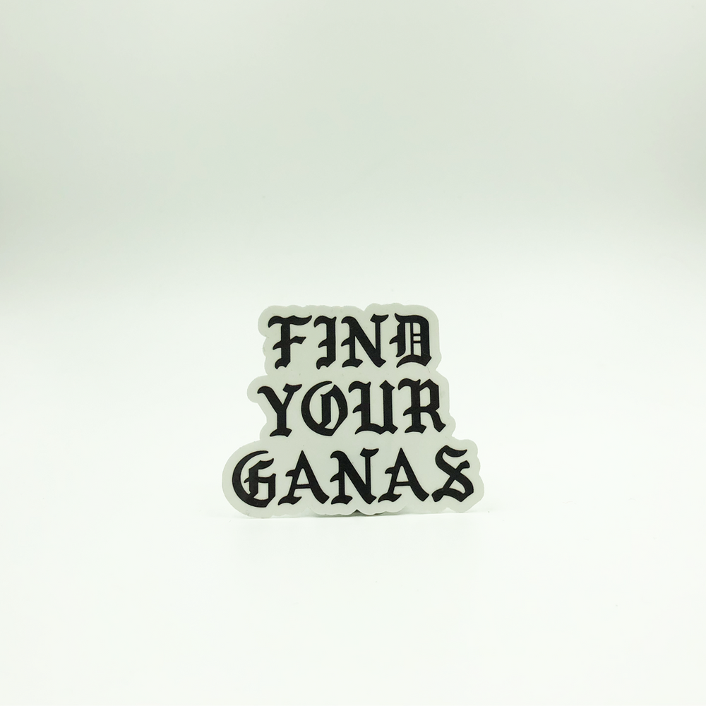 Find Your Ganas Sticker
