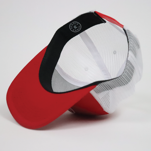 Load image into Gallery viewer, Camionero Snapback - Red