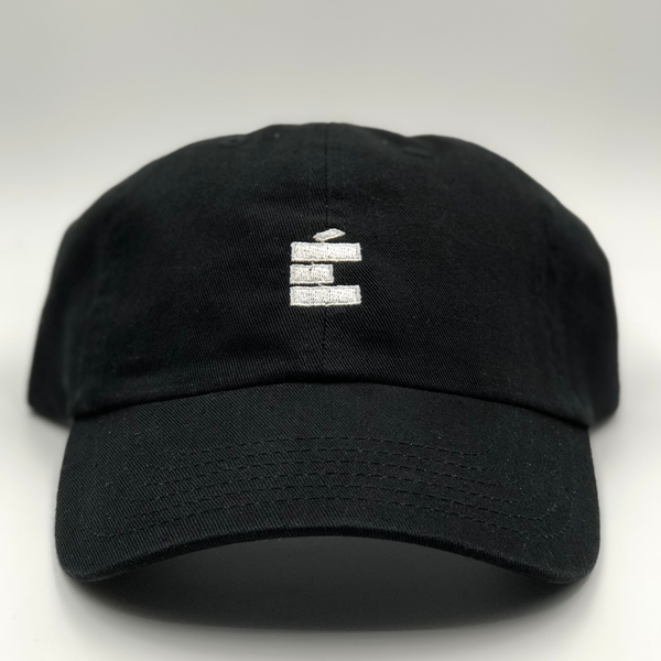 small E Dad Hat - Blk