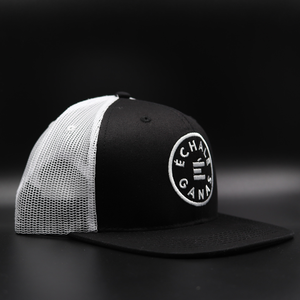 Load image into Gallery viewer, Camionero Snapback - Black