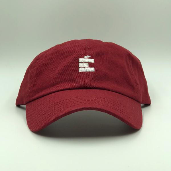 small E Dad Hat - Burgundy