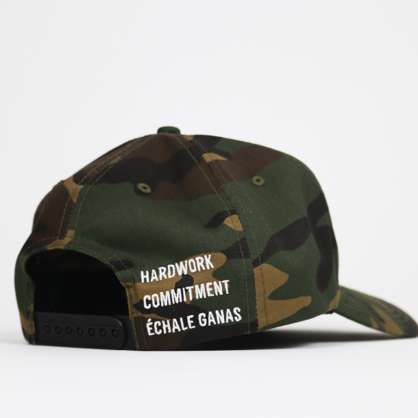 Load image into Gallery viewer, Échale Ganas Curved Camo hat