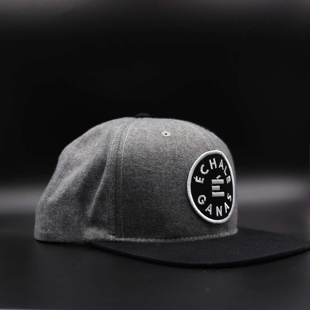 Load image into Gallery viewer, Energy Snapback - Heather Grey