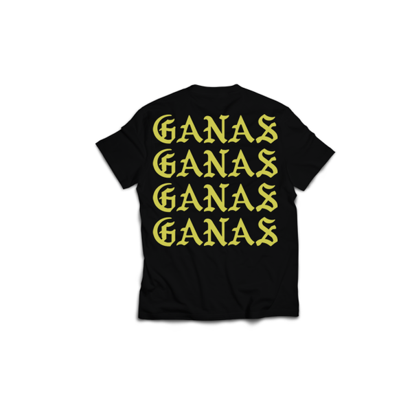 Men's Find your Ganas T-Shirt Black