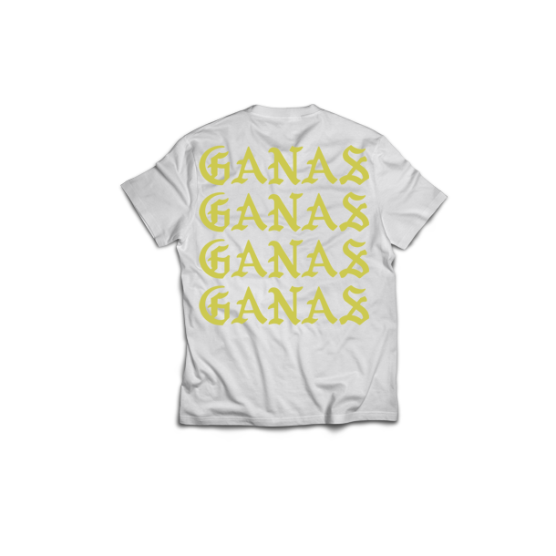 Men's Find your Ganas T-Shirt White