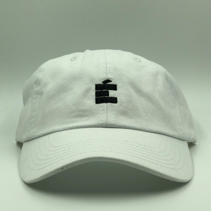 small E Dad Hat - White