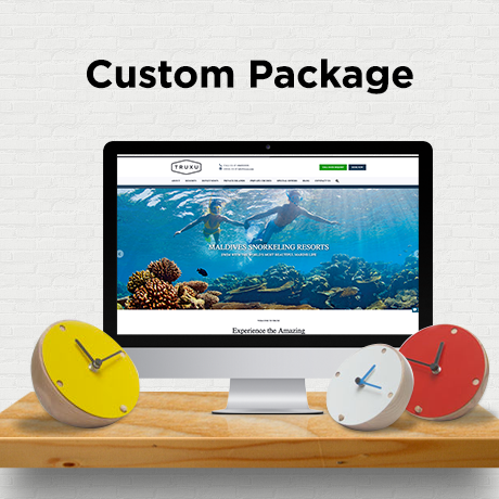 Custom Package for Vincent Dickson - East Bay Website Development