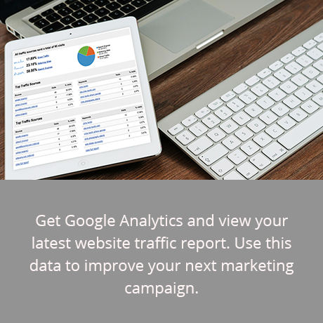 Google Traffic & Rankings Report + Free Google Analytics Installation