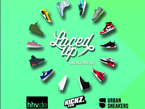Laced Up Sneakermesse in Leipzig -  Save the Date