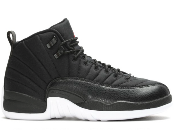 "12 RETRO BG ""GYM BLACK"""