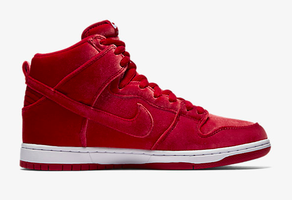 "SB DUNK HIGH PREMIUM ""RED VELVET"""