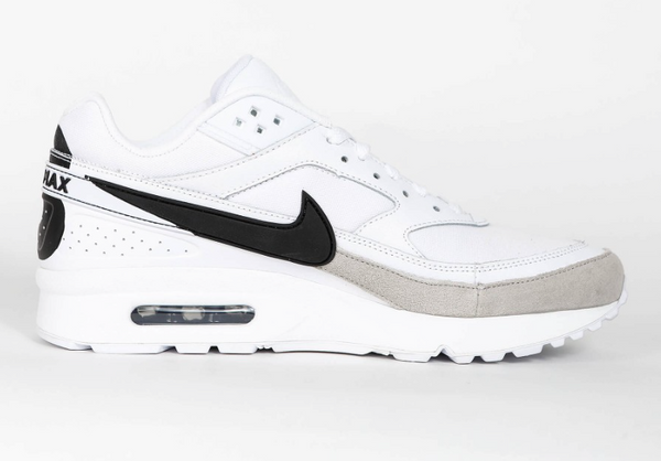 Air Max BW Premium - White / Black - Lt Iron Ore