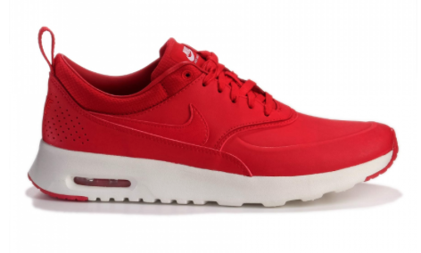 AIR MAX THEA - Sneaker low - university red/sail/white