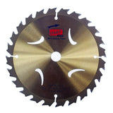 190 x 30mm Coarse Cut TCT Circular Saw Blades for Wood, 20 teeth