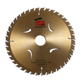 210 x 30mm Medium Cut TCT Circular Saw Blades for Wood, 40 teeth