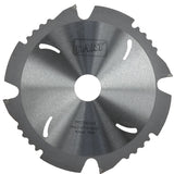 190 x 30mm Poly Crystalline Diamond Circular Saw Blades for HardiePlank/Minerit/Eternit/MDF/Corian, 4 teeth