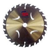 165 x 20mm Thin Kerf TCT Circular Saw Blades for Wood, 24 teeth
