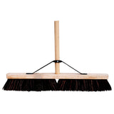 "24"" Bassine Platform Brush c/w Handle & Stay"