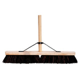 "24"" Coco Platform Brush c/w Handle & Stay"