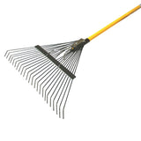 Faithfull Fibreglass Handle Lawn Rake 600mm