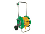 Hozelock Assembled Hose Reel c/w 50m multi purpose hose & fittings