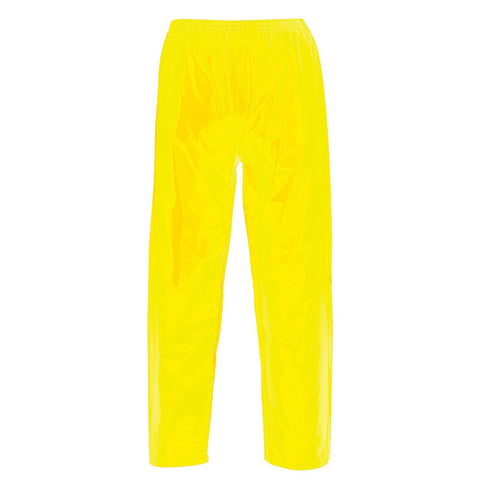 Contractors Hi Visibility Yellow Overtrousers