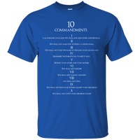 10 Commandments-Apparel-Our Lord Style