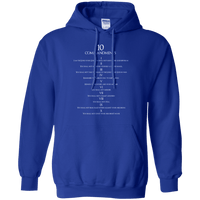 10 Commandments Pullover Hoodie-Apparel-Our Lord Style