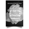 Prayer of Protection (Rose Canvas/Poster)