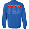You Say God Says Hoodies/Sweatshirts (Back Design)