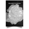 Prayer to Mend (Rose Canvas/Poster)