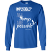 All Things Are Possible (Luke 18:27)-Apparel-Our Lord Style