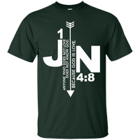 Anyone Who Does Not Love Does Not Know God Because God Is Love (1 JN 4:8)-Apparel-Our Lord Style
