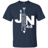 Anyone Who Does Not Love Does Not Know God Because God Is Love (1 JN 4:8) Cotton Shirt-Apparel-Our Lord Style